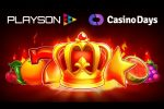 Playson signs content deal with Casino Days