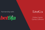 Bet9ja adds LiveG24's games for the Nigerian market