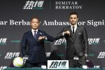 Dimitar Berbatov unveiled as RB88 brand ambassador
