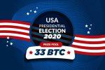US Election: Win 33 BTC at FreeBitco.in