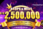 PRAGMATIC PLAY ROLLS OUT DROPS & WINS 2021 WITH A €/£2.5M PRIZE POOL