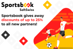 SoftSwiss offers setup discount of up to 25% for new Sportsbook clients
