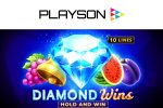 Playson with Diamond Wins: Hold and Win