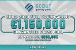 Scout Gaming Group launches a €1.150.000 guarantee fantasy tournament for the EURO 2021