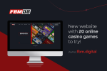 FBM Digital Systems has a new website with 20 online casino games to try